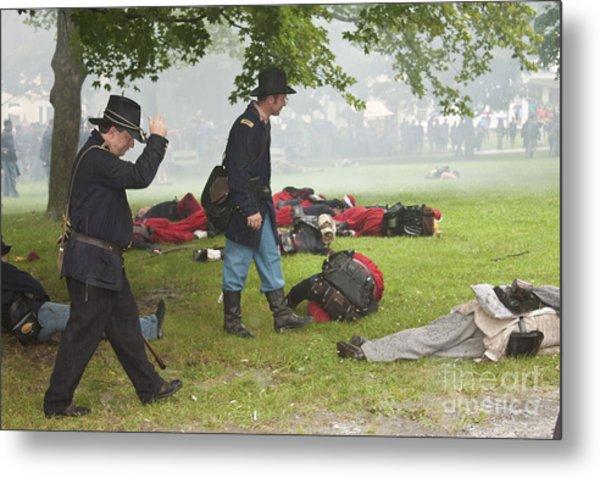 Civil War Reenactment 4 Metal Print