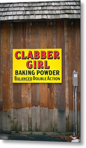 Clabber Girl Metal Print