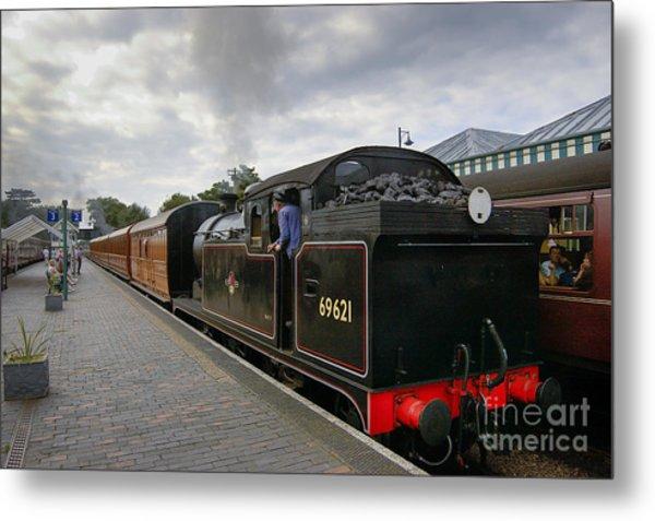 Class N7 0 6 0 2t 69621 Tank Locomotive Metal Print by Simon Pocklington