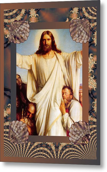 Classic Bloch Jesus Metal Print