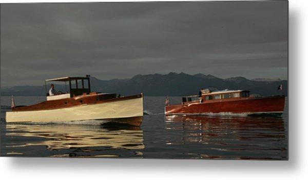Lake Tahoe Classics Metal Print