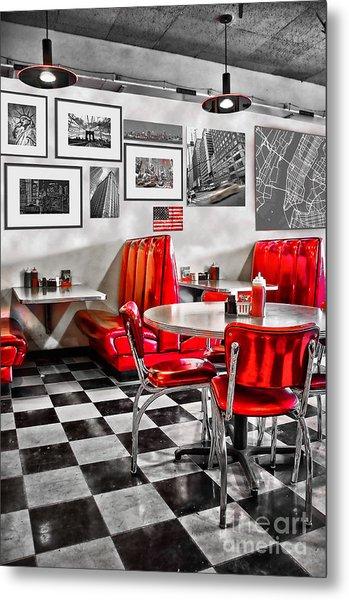 Classic Diner Metal Print
