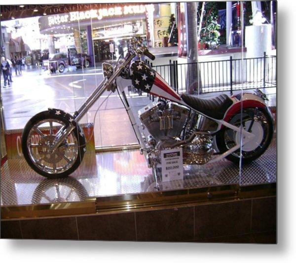Classic Motorcycle Metal Print