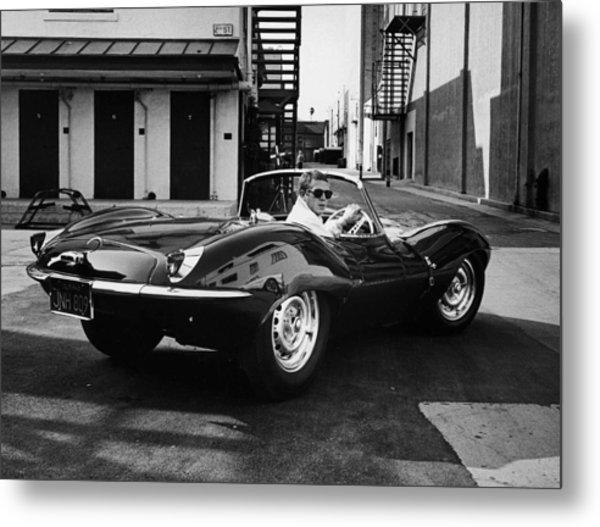 Classic Steve Mcqueen Photo Metal Print