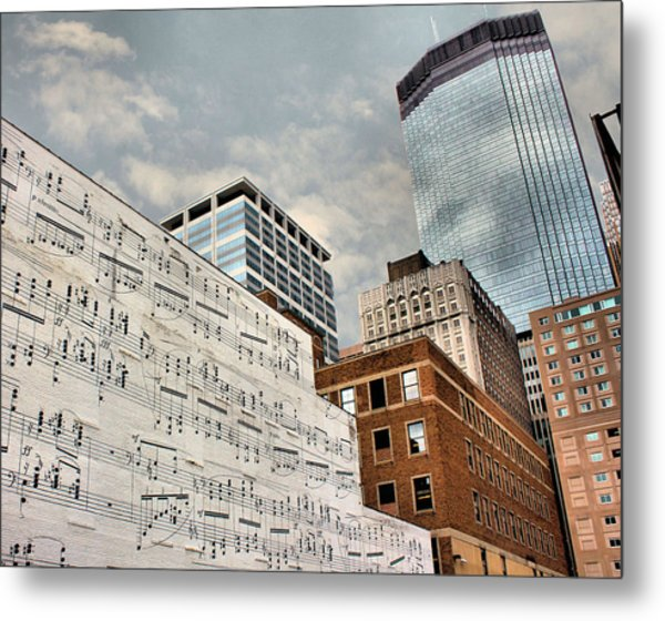 Classical Graffiti Metal Print