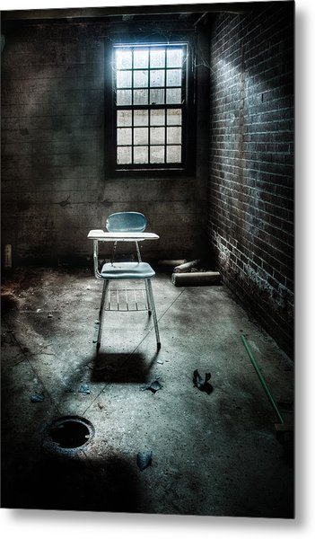 Metal Print featuring the photograph Classroom - School - Class For One by Gary Heller