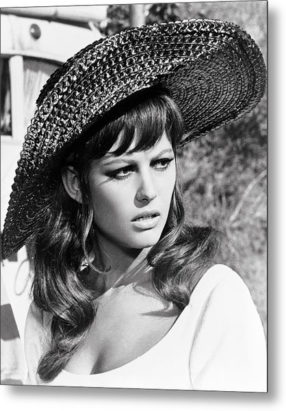 Claudia Cardinale In Don't Make Waves  Metal Print by Silver Screen