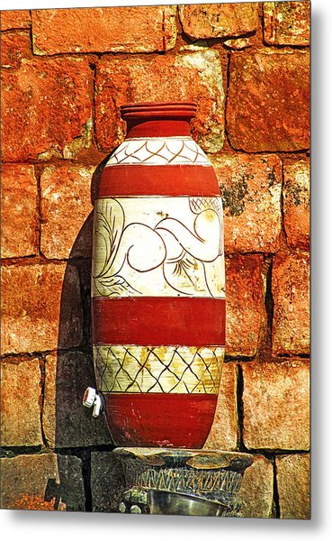 Clay Art Metal Print