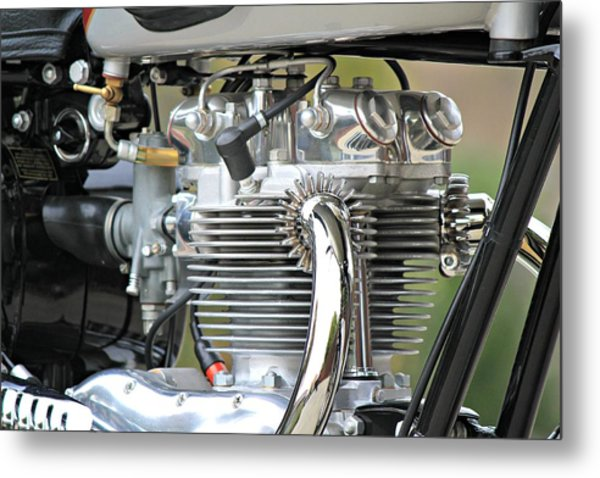Clean Machine Metal Print