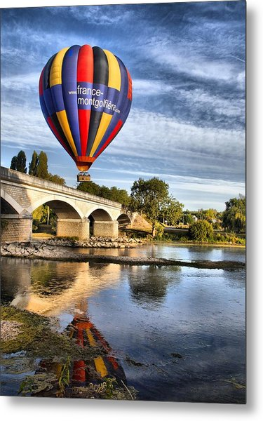 Clear And Away Metal Print