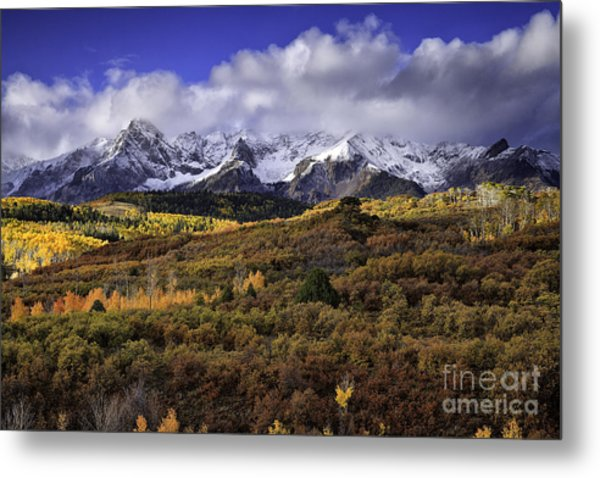 Clearing Storm At The Dallas Divide Metal Print