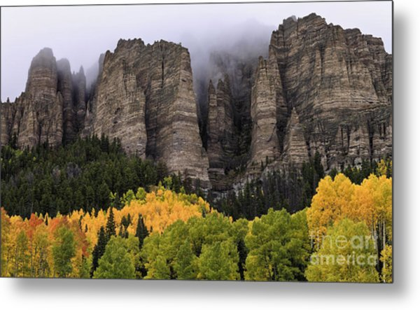 Clearing Storm Over The Cimarrons Metal Print
