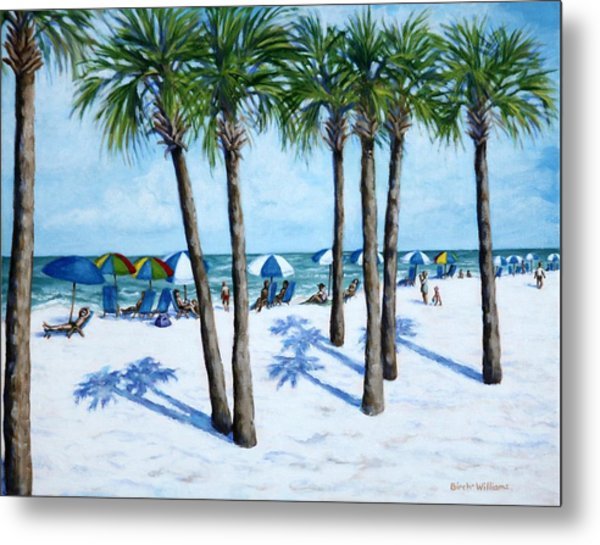 Clearwater Beach Morning Metal Print