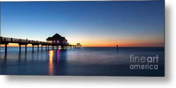 Clearwater Beach Pier Metal Print
