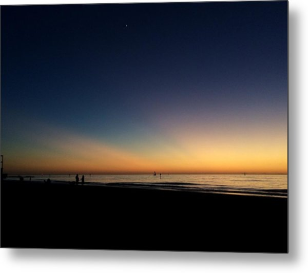 Clearwater Beach Sunset 1 Metal Print