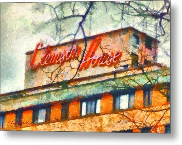 Clemson House Metal Print