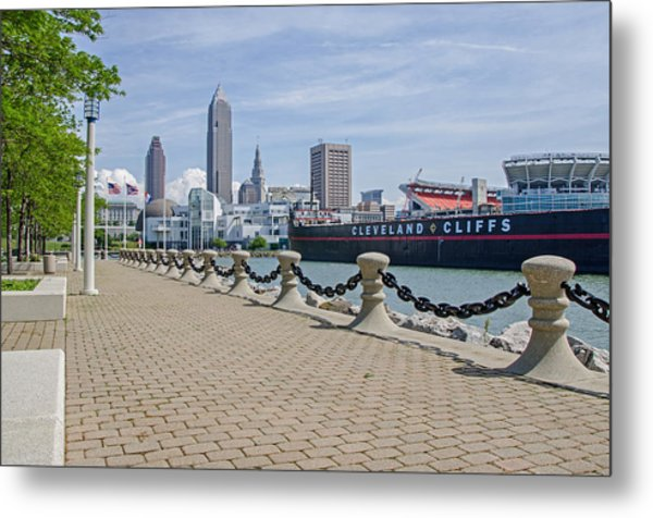 Cleveland Lake Front Metal Print