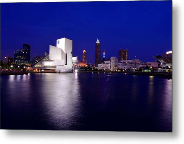 Cleveland North Shore Metal Print