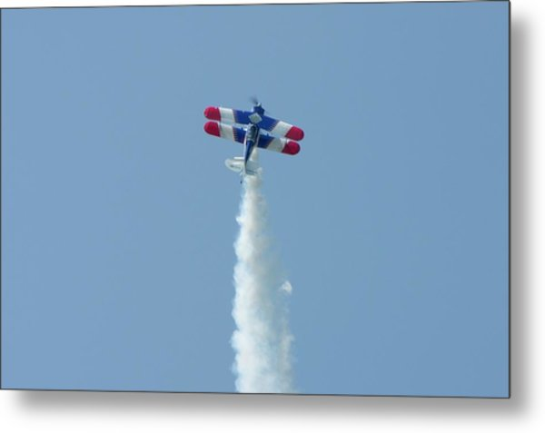 Climbing To The Sky Metal Print