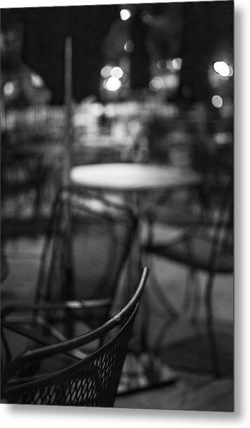 Closed Dining Metal Print by Michael Williams
