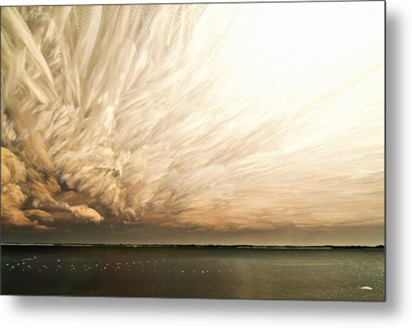 Cloud Chaos Metal Print