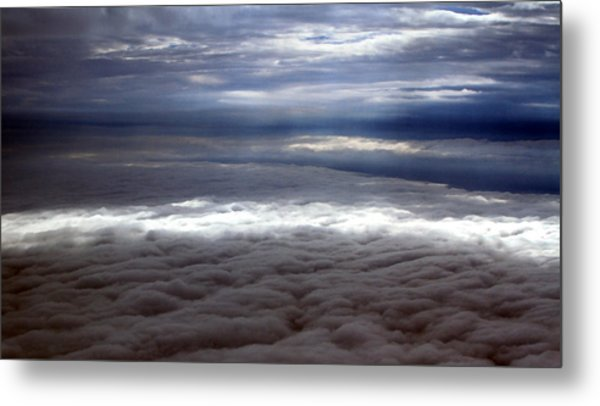 Cloud Layers 1 Metal Print by Maxwell Amaro
