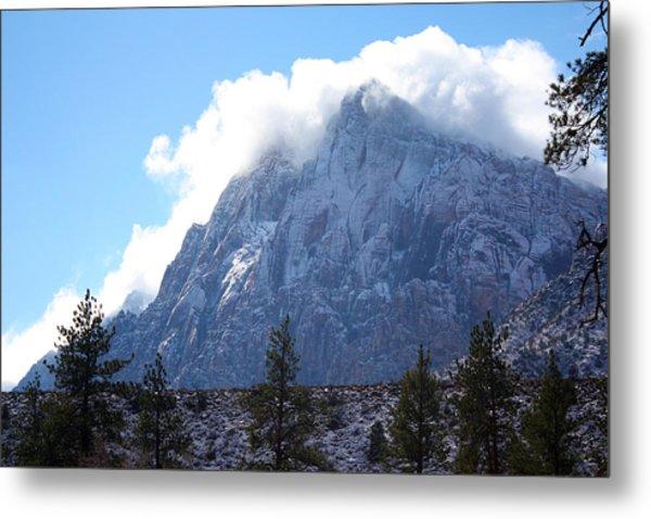 Cloud Mountain Metal Print