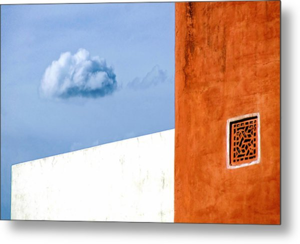 Cloud No 9 Metal Print