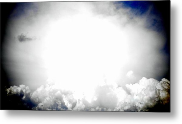 Cloudburst Sky Celestial Cloud Art Xl Resolution Metal Print