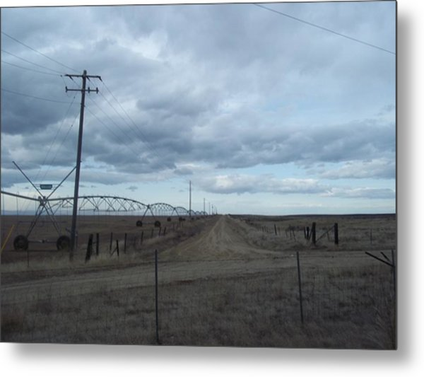Clouds Metal Print by Angela Stout