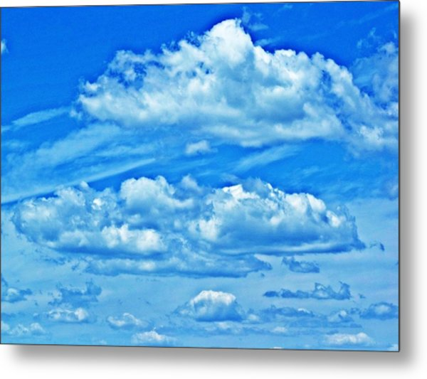 Clouds Metal Print by Dave Dresser