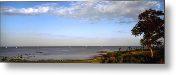 Clouds Over A Lake, Lake Victoria, Kenya Metal Print