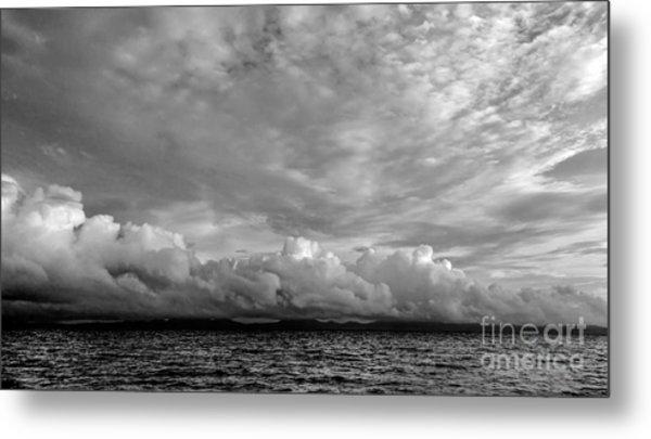 Clouds Over Alabat Island Metal Print