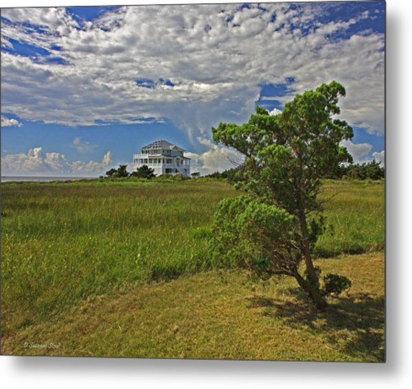 Clouds Over Hatteras Metal Print