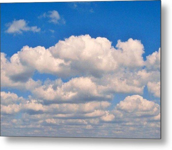 Clouds Over Lake Pontchartrain Metal Print