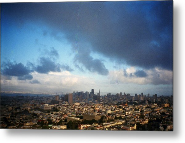 Clouds Over San Francisco Metal Print by Eric Miller