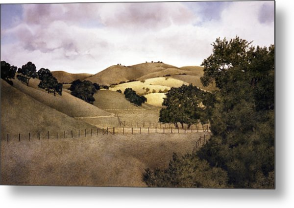 Cloudy Afternoon Metal Print