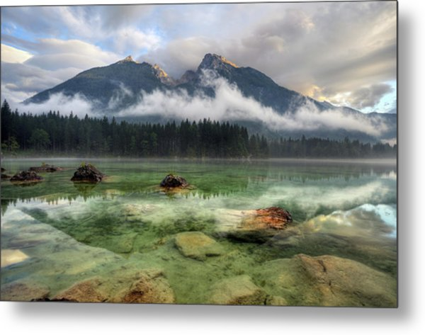Cloudy Day Metal Print by