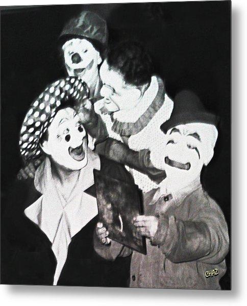 Clowning Around Metal Print