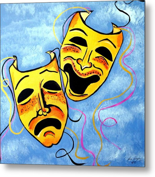 Comedy And Tragedy Metal Print