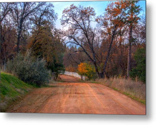 Clydesdale Road Too Metal Print