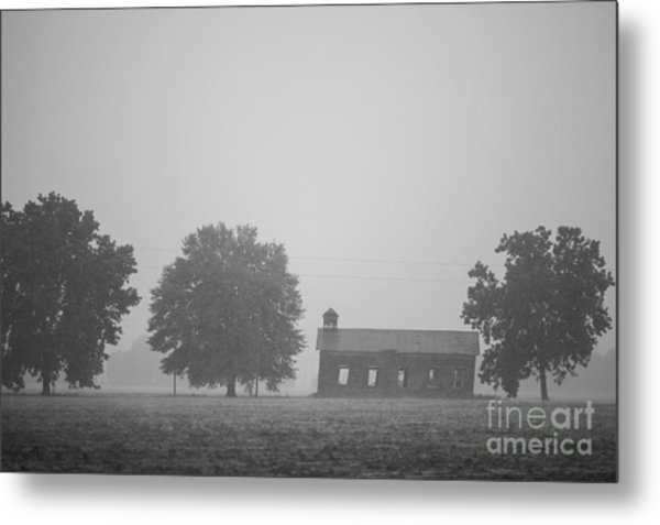 Cme Church At Mont Helena Plantation Metal Print