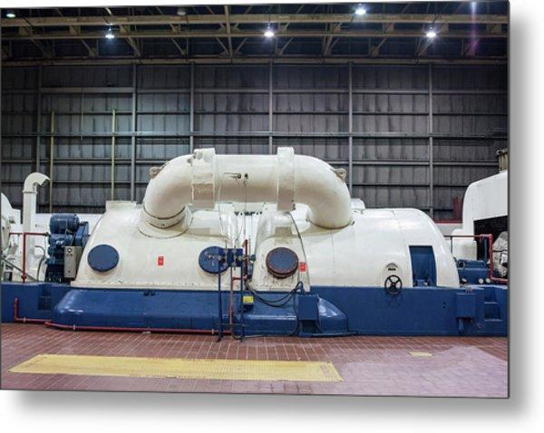 Coal-fired Power Station Turbine Metal Print