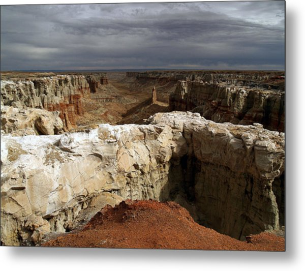 Coal Mine Mesa 08 Metal Print