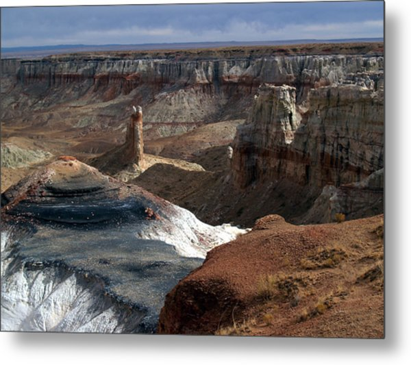 Coal Mine Mesa 09 Metal Print
