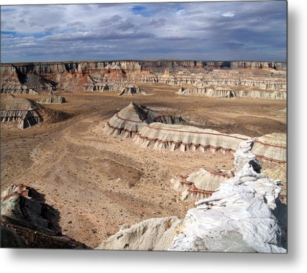 Coal Mine Mesa 11 Metal Print