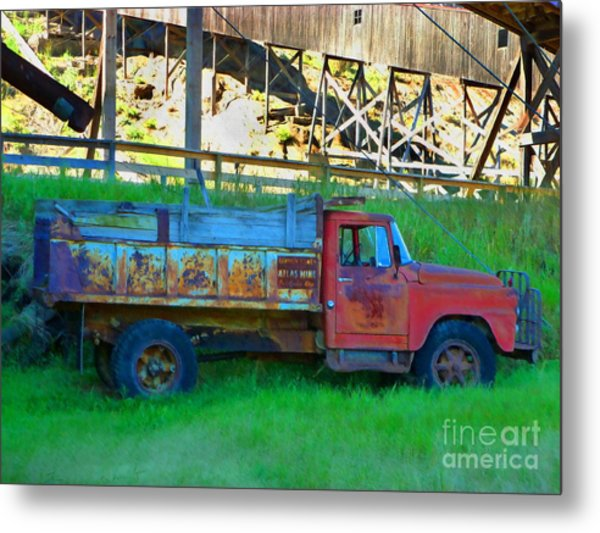 Coal Truck Metal Print by John Kreiter