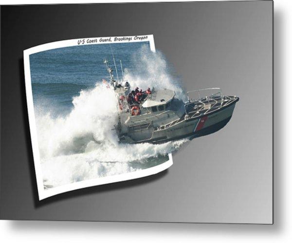 Coast Guard Metal Print