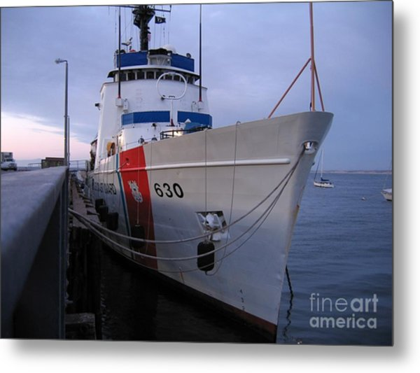 Coast Guard Cutter Alert Metal Print