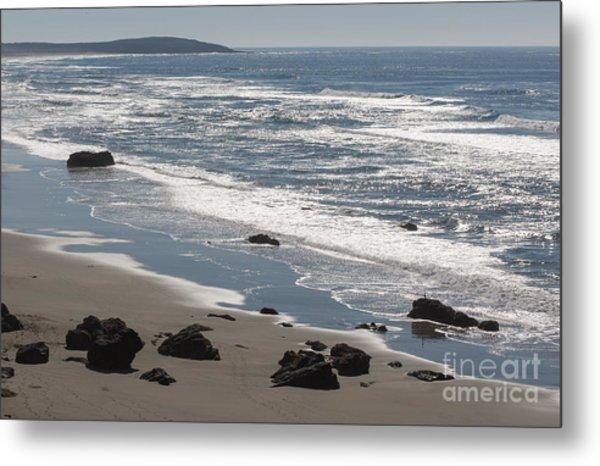 Coast Near Bodega Bay - 355 Metal Print by Stephen Parker